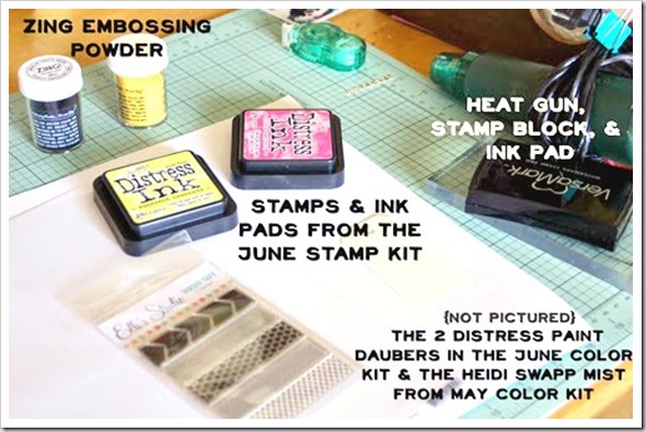 June 6 Supplies