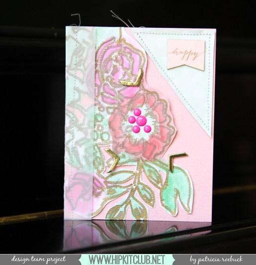 February Kits @hipkitclub @paroe #hipkitclub #cardmaking #cards #videotutorial