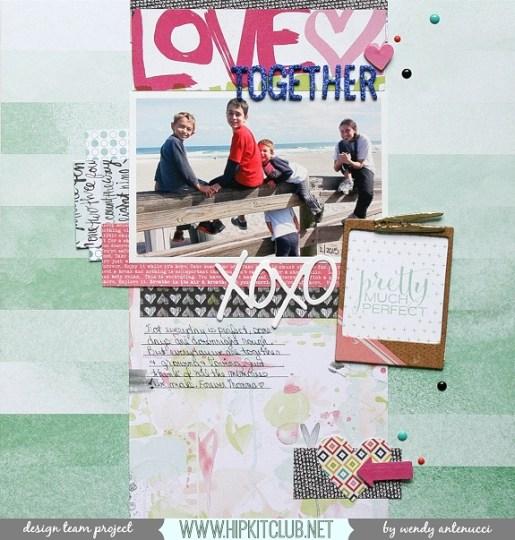 Love Together border