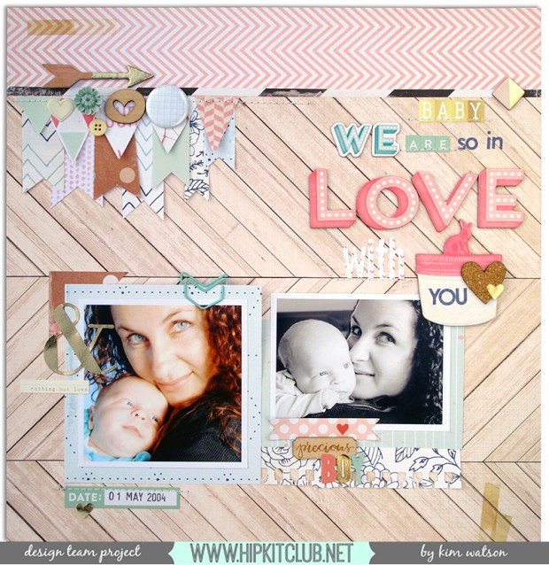 @KimWatson @HipKitClub @crate_paper #hipkitclub #March2015 #12x12 #layout #scrapbooking