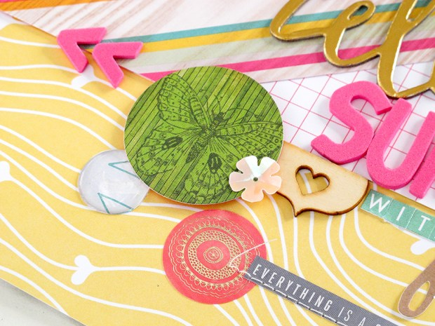 @KimWatson @HipKitClub @websterspages @americancrafts @HeidiSwapp #summercrafts #layout #12x12 #scrapbooking