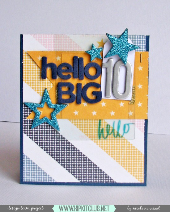 hello big 10 card