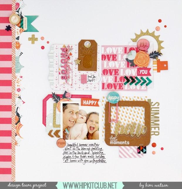 @HipKitClub @KimWatson @fancypantsdsgns @crate_paper  @shopEvalicious #summercrafting #12x12 #layout #scrapbooking