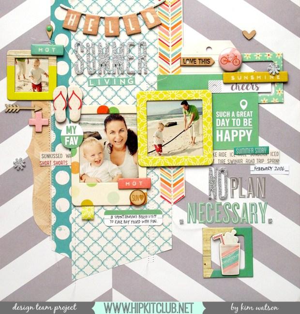 @HipKitClub @KimWatson @ellesstudiopins @simplestories @oct_afternoon @crate_paper #scrapbooking #layout #12x12