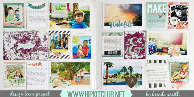 October Project Life with Brenda Smith
