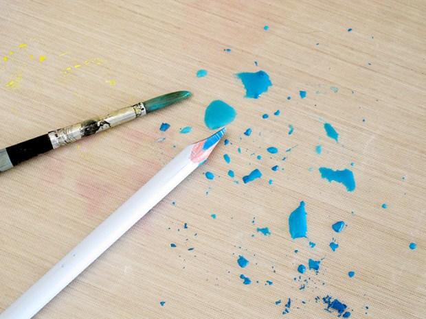 Mixed media, Watercolor Pencils, Tutorial, Kim Watson