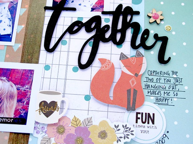 Kim Watson, Hip Kit Club, Scrapbooking, Paper Craft, Fall, Autumn, Memory Keeping, Pink Paislee, Jen Hadfield,