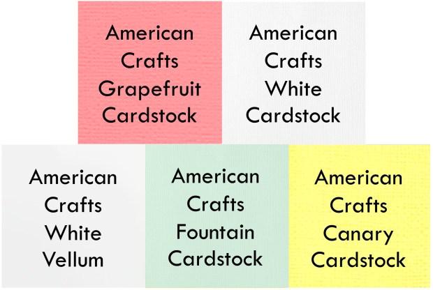 Cardstock