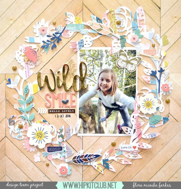 fall-wreath-scrapbook-layout