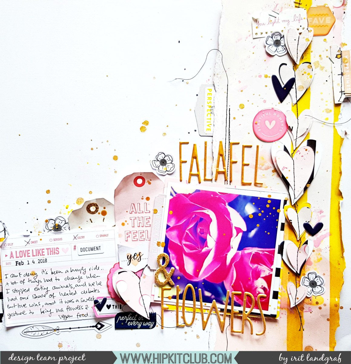 Falafel & Flowers | Irit Landgraf