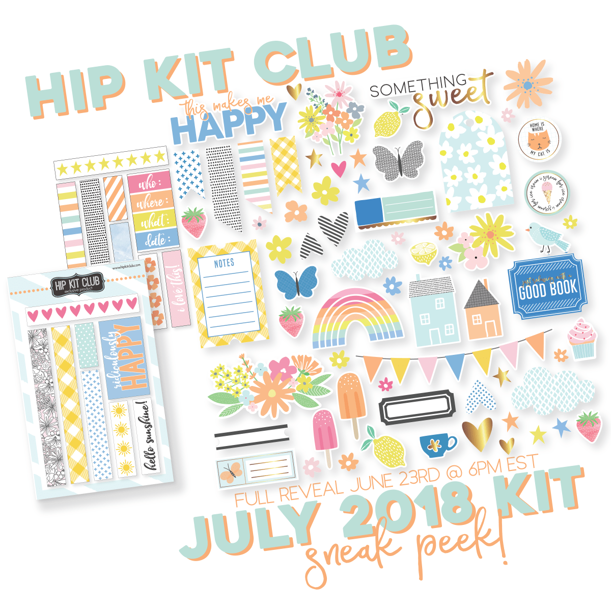 JULY 2018 HIP KIT SNEAK PEEK #1...