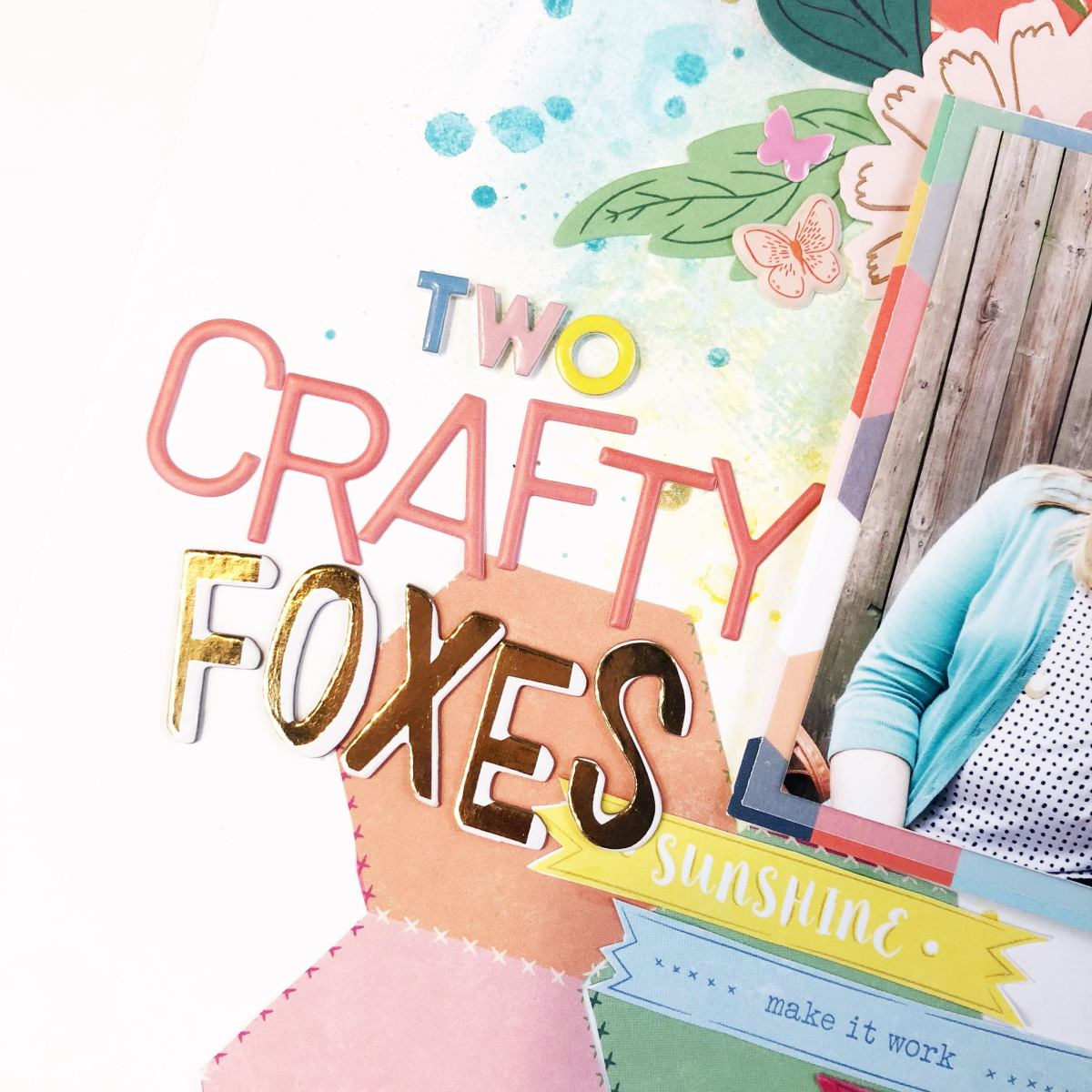 Two Crafty Foxes - Weekly Sketch | Tazhiana Gordon