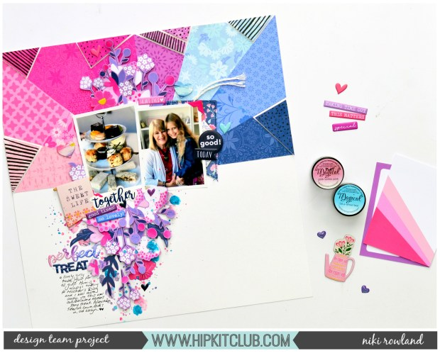 Perfect Treat Niki Rowland Hip Kit Club Paige Evans Horizon Shimelle Sparkle City footer set