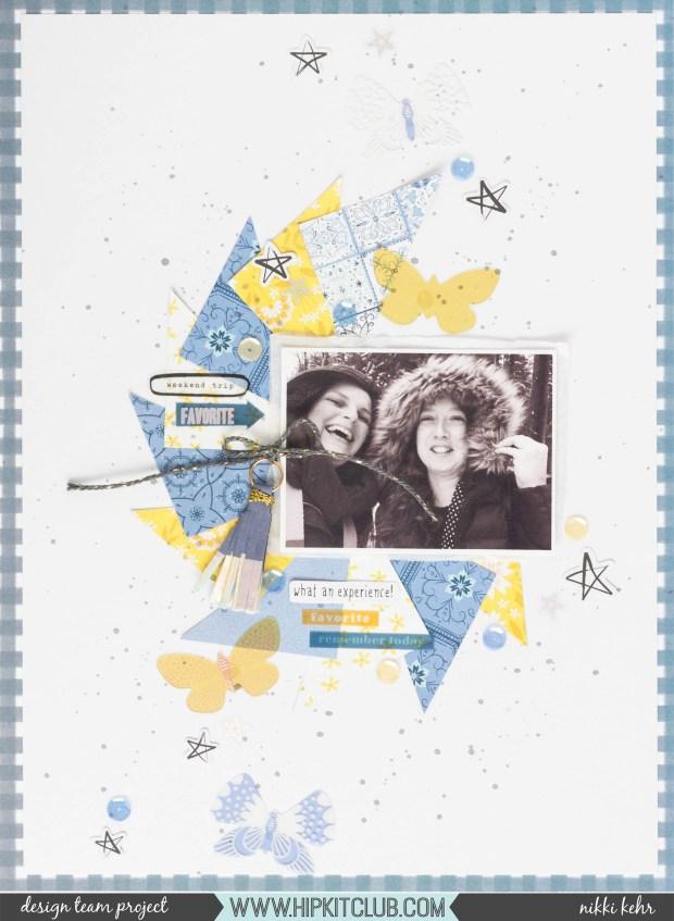 Hip Kit Club-May Kit 2019-Scrapbook Layout-Nikki Kehr-Nimena (1 von 6)_