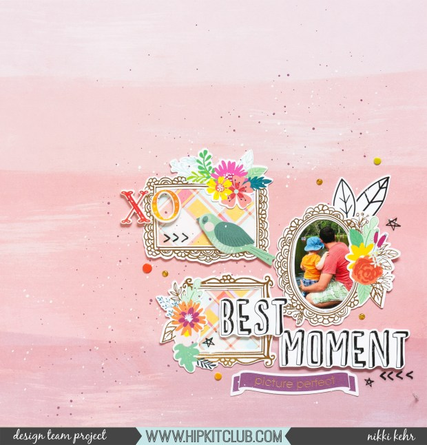 Hip Kit Club-August Kit 2019-Scrapbook Layout-Nikki Kehr-Nimena (1 von 4)_