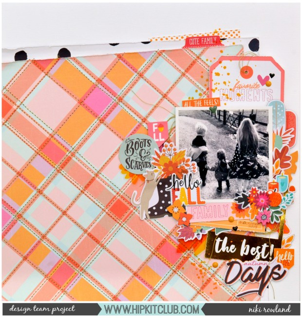 The Best Autumn Days Niki Rowland Hip Kit Club October 2019 Hip Kits Pretty Little Studio Indian Summer