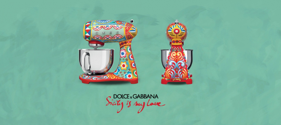 1a3c70a586ec Dolce Gabbana and Smeg have once again join creative forces to create Sicily  is my Love
