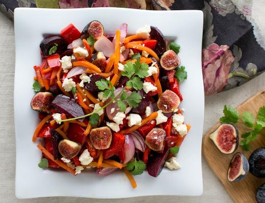 Immune Boosting Roasted Red Salad