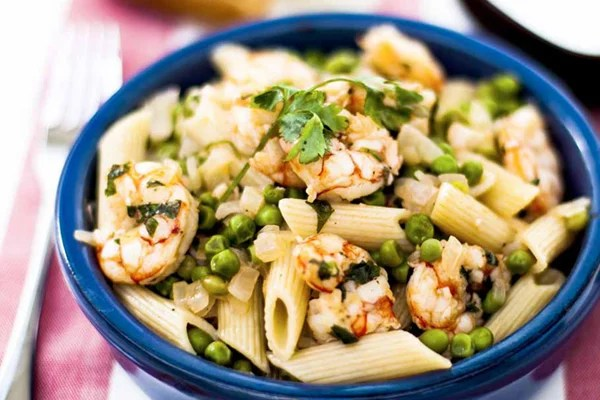Prawns-To-Be-Wild With Penne