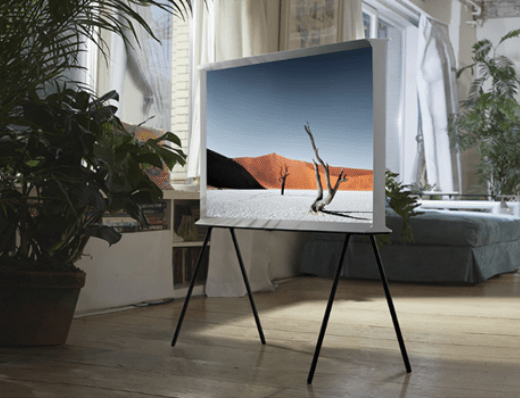 360 degree view with Samsung's Serif 139cm TV