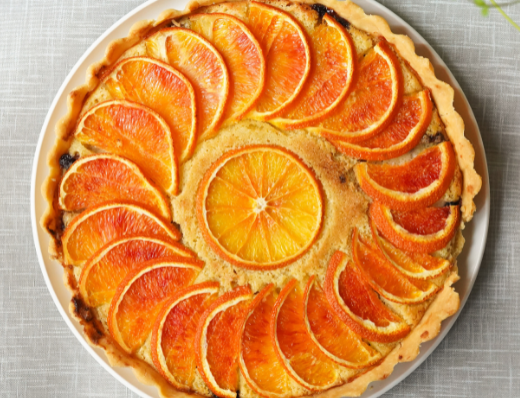 Fresh Orange Tart