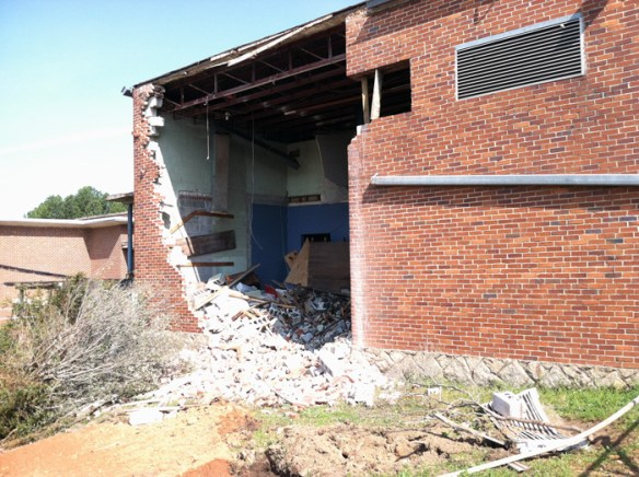 Demolition, April 17, 2013.
