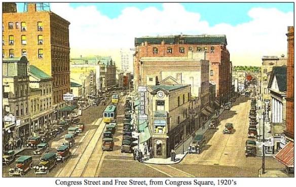 Credit: Congress Street Historic District Designation Report, City of Portland, Me.