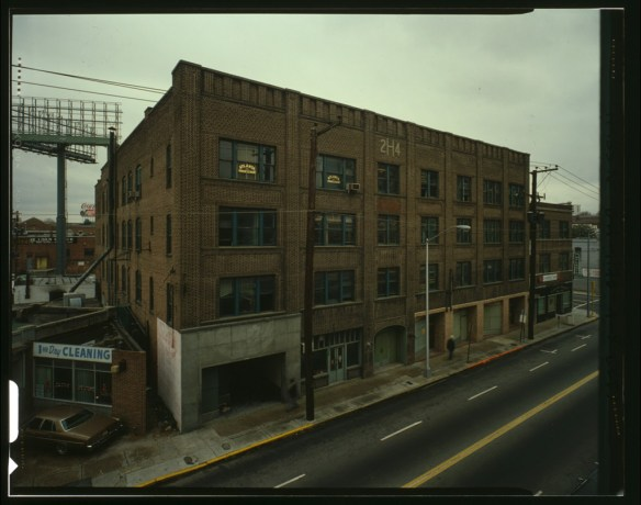 Herndon & Atlantic Life Building, 229-243 Auburn Avenue, Atlanta, Fulton County, GA. HABS GA-1170-A. Library of Congress:  http://www.loc.gov/pictures/item/ga0208.color.572056c/