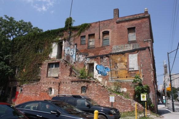 Atlanta Life Insurance Co. Building, east facade, June 2014.
