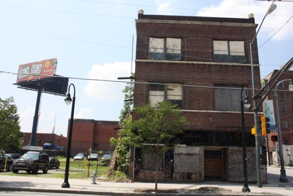 Former Atlanta Life Co. building. June 2014.