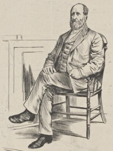 """Boss Tweed in Court."" Credit: New York Pulbic Libbrary."