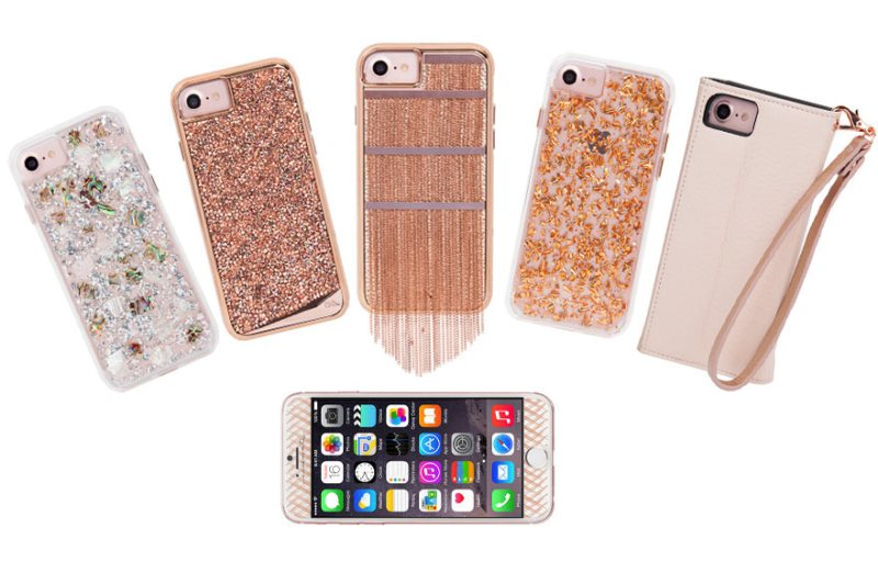 Case-mate lineup of fashion cases & Gilded Glass screen protector