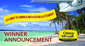 Winner Announcement – Fly Away to Jamaica with Hitfar & OtterBox