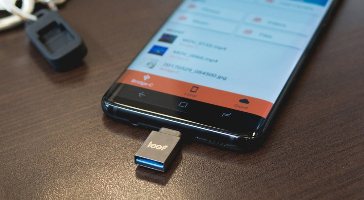 Leef bridge-C external memory for Android phones
