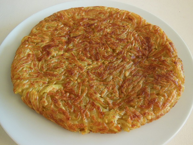 Rösti, a traditional Swiss food