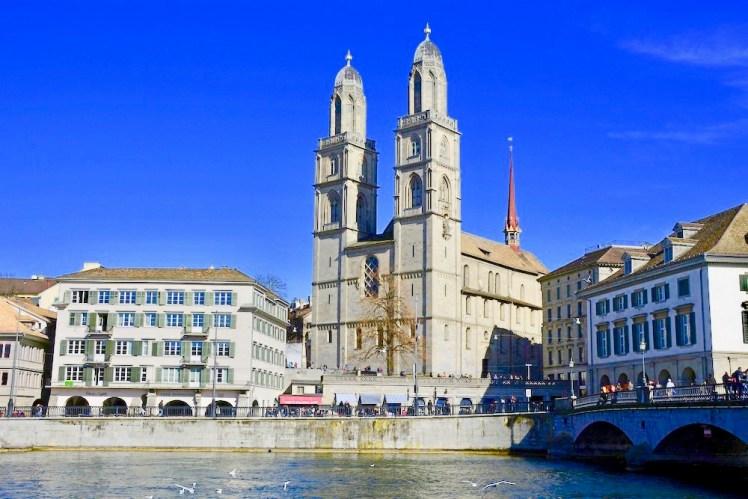 Grossmünster Kirche in Zürich