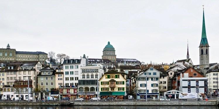 Berühmtes Zürcher Niederdorf