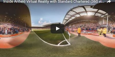 Singapore 360 vr liverpool standard chartered marketing campaign