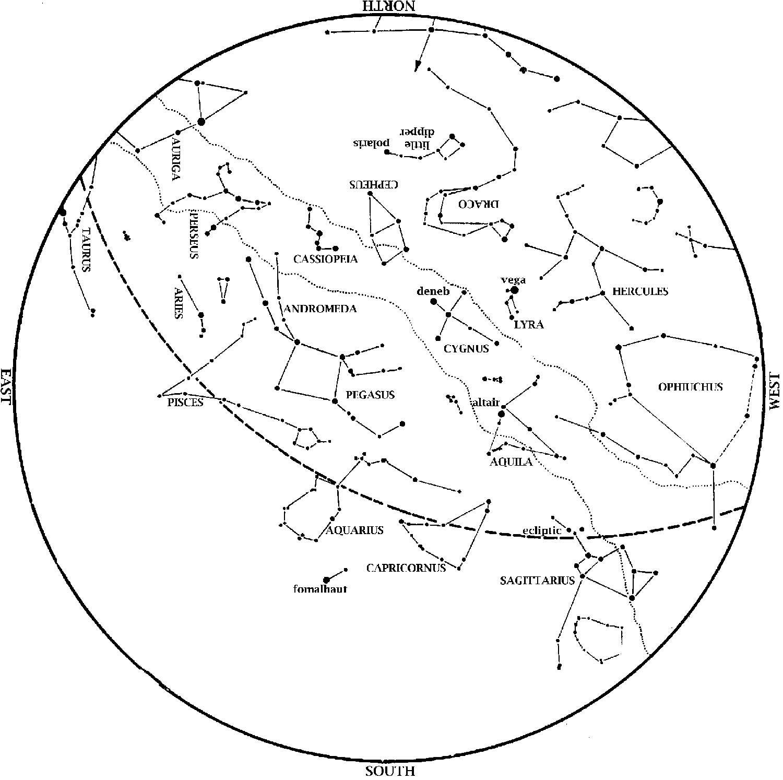 Star Map November