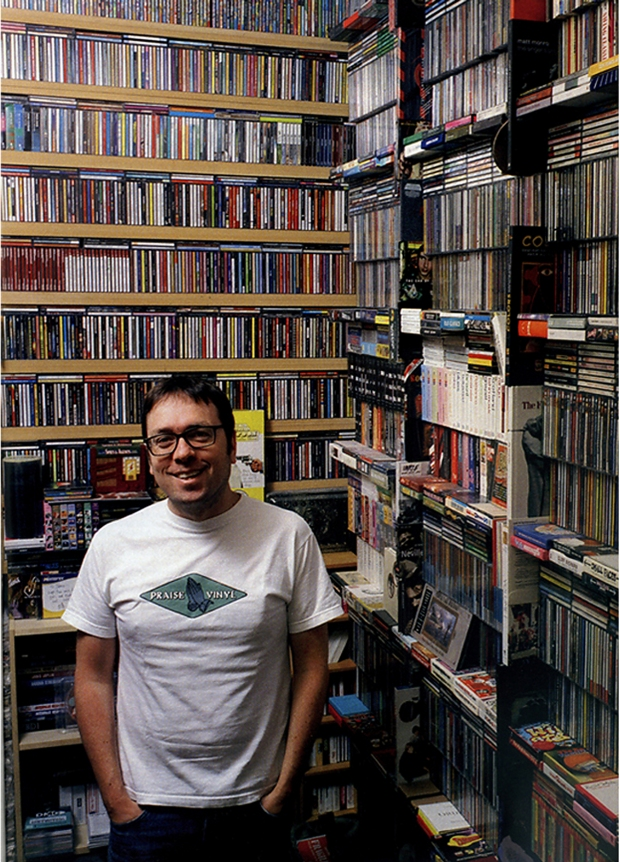 James Hyman's CD collection
