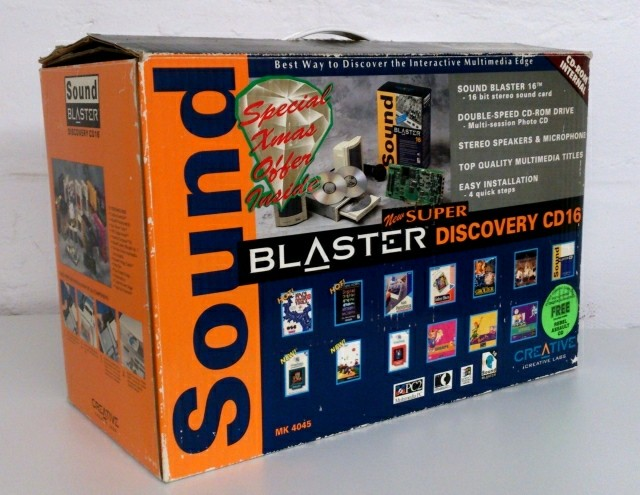 Super Sound Blaster Discovery CD16 kit