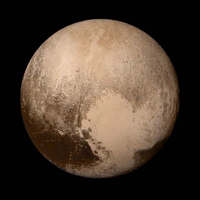 Pluto, the ex-planet (image via NASA)