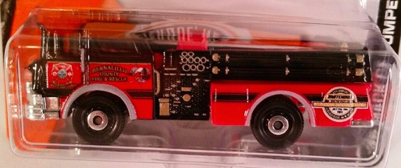 This custom '75 MAck Fire Pumper was given to collectors at the gathering.