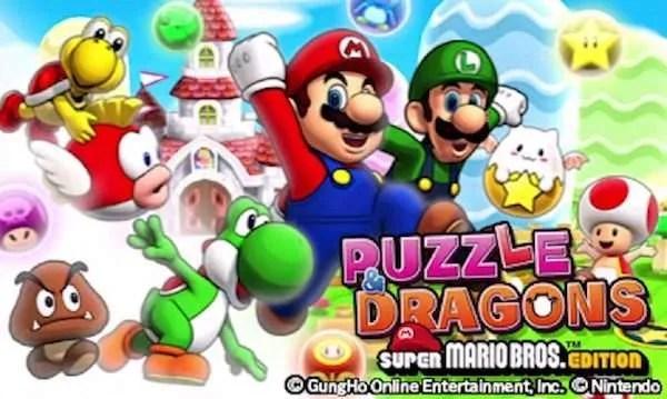 puzzle dragons mario