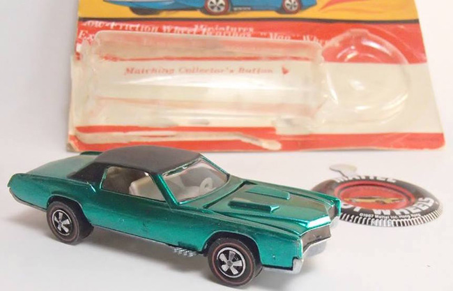 68 Custom El Dorado Hot Wheels