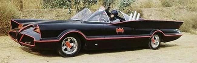 1966 TV Batmobile