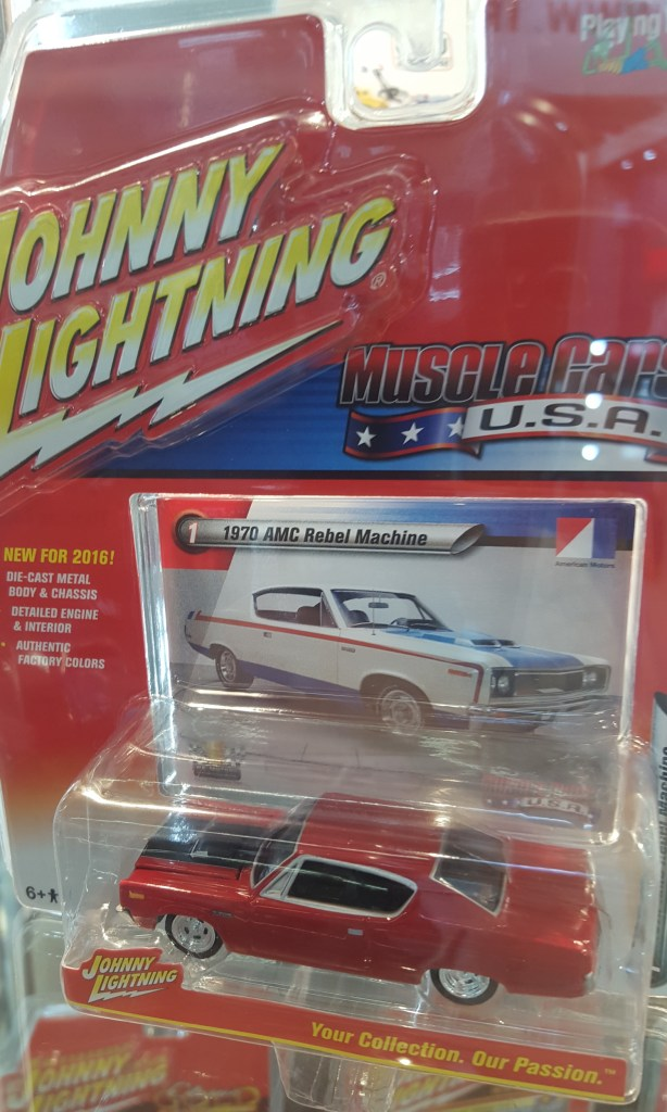 Johnny Lightning 1970 AMC Matador Rebel Machine