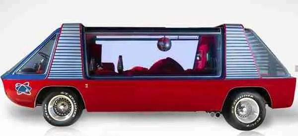 SuperVan disco ball Dodge A-100