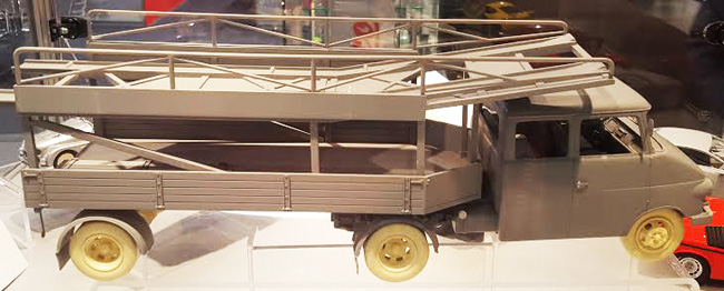 Schuco Opel Porsche transporter