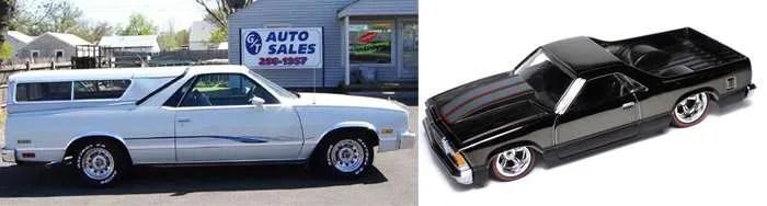 Hot Wheels Chevy El Camino 80s